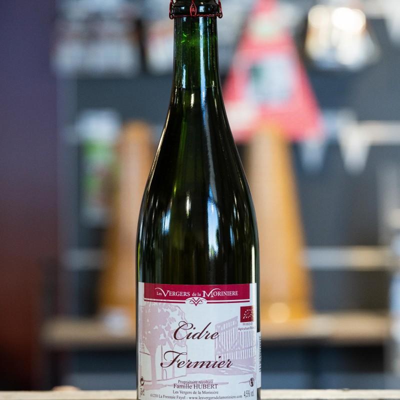 Cidre Fermier Brut 4,5% 75 cl