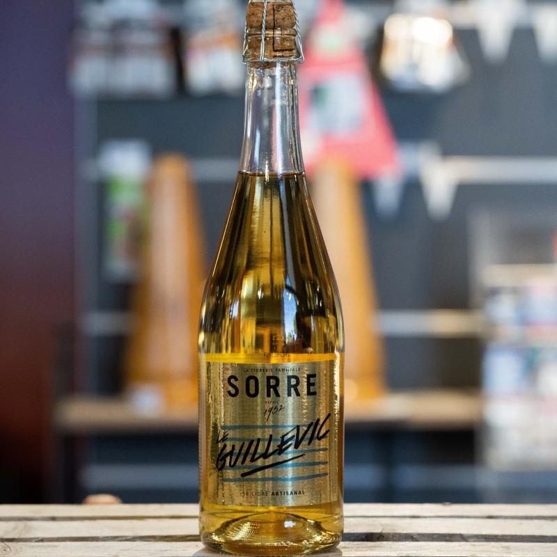 Cidre Guillevic demi-sec  3% 75 cl