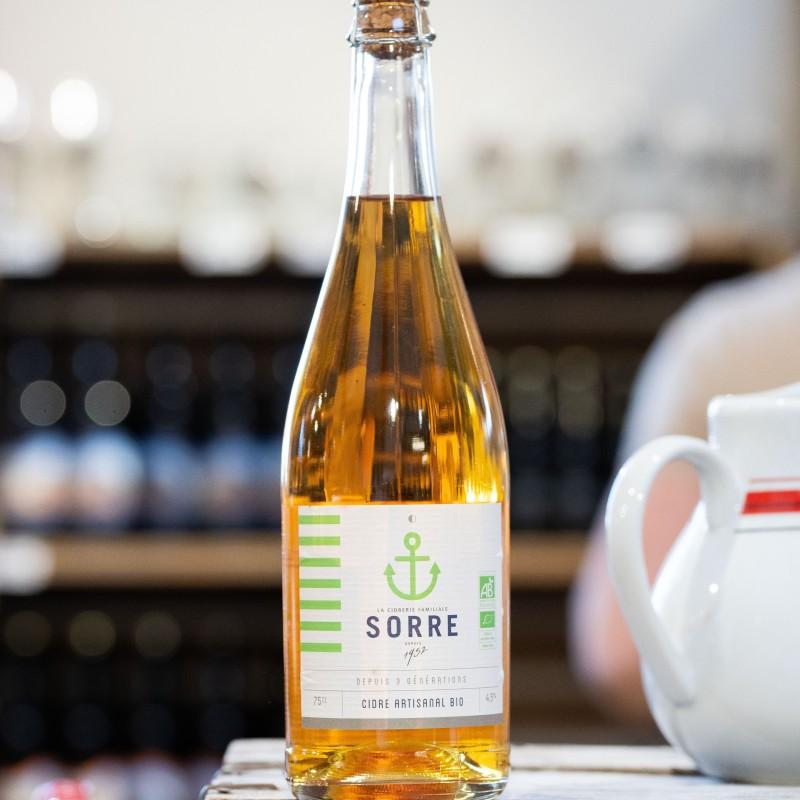 Cidre Bio Brut 4,5% 75 cl