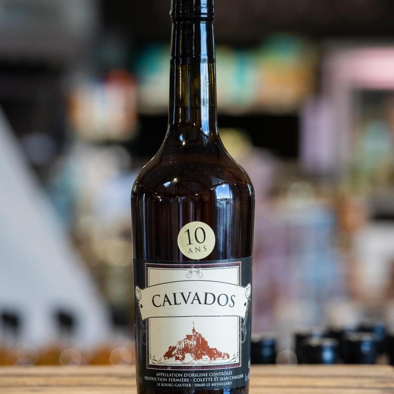 Calvados Normand fermier 10 ans  42%vol. 70cl