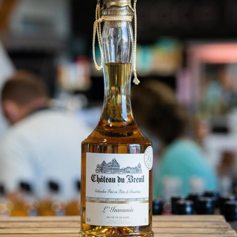 Eau de vie Finie Fûts de Bourbon L'insoumis 8ans d'âge 44% 70cl