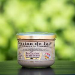 Terrine de foie au Pommeau de Normandie 190g